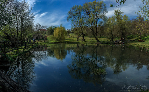 lake nature pond outdoor well jakab szent forrás vászoly