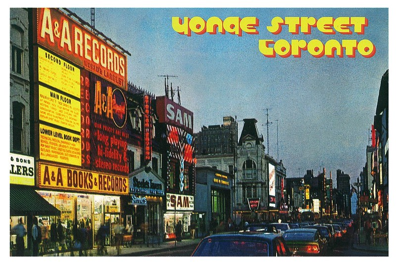 Retro - Toronto - Yonge Street 1971
