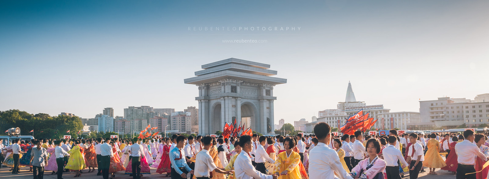 Pyongyang City Mass Dancing Celebration