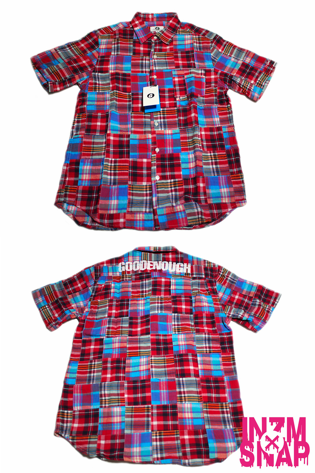 GOODENOUGH | PATCHWORK REGULAR S/S SHIRT