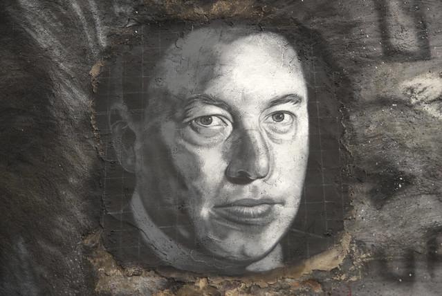 Elon Reeve Musk, painted portrait _DDC2284