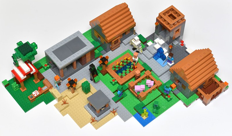 Lego Minecraft 21128 The Village Review Brickset Lego Set