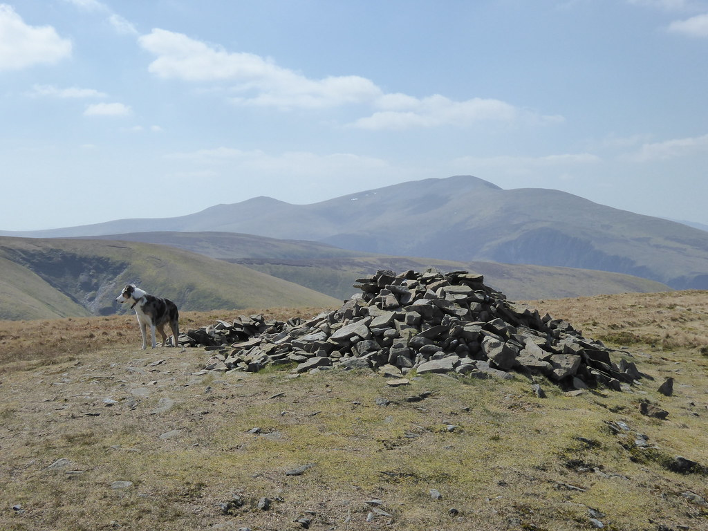 Skiddaw from Great Sca Fell