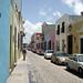 Campeche, calle del Barrio Antiguo. por helicongus