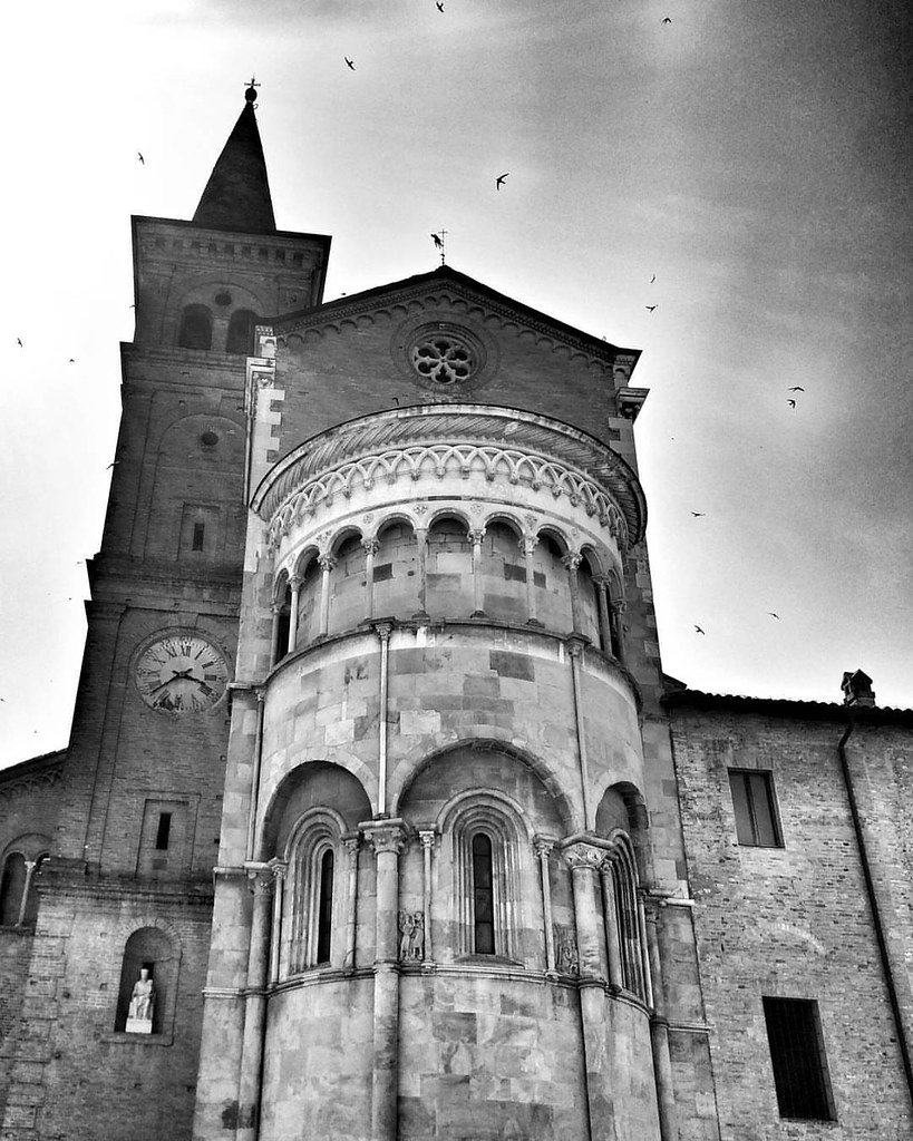 Fidenza Duomo  #travel #travelgram #trip #Fidenza #Italy #monochrome #blackandwhite #bw #day #church #light #beautiful #clouds #photooftheday #amazing #instalike #igers #picoftheday #instadaily #instafollow #followme #instagood #bestoftheday #instacool #i