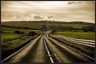 Coast road North Yorkshire