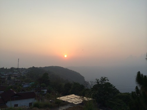 Cherrapunjee sunset