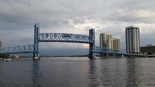 city bridge blue water landscape mainstreet florida ngc jacksonville fl alsop stjohnsriver lovefl iwantjacksonville