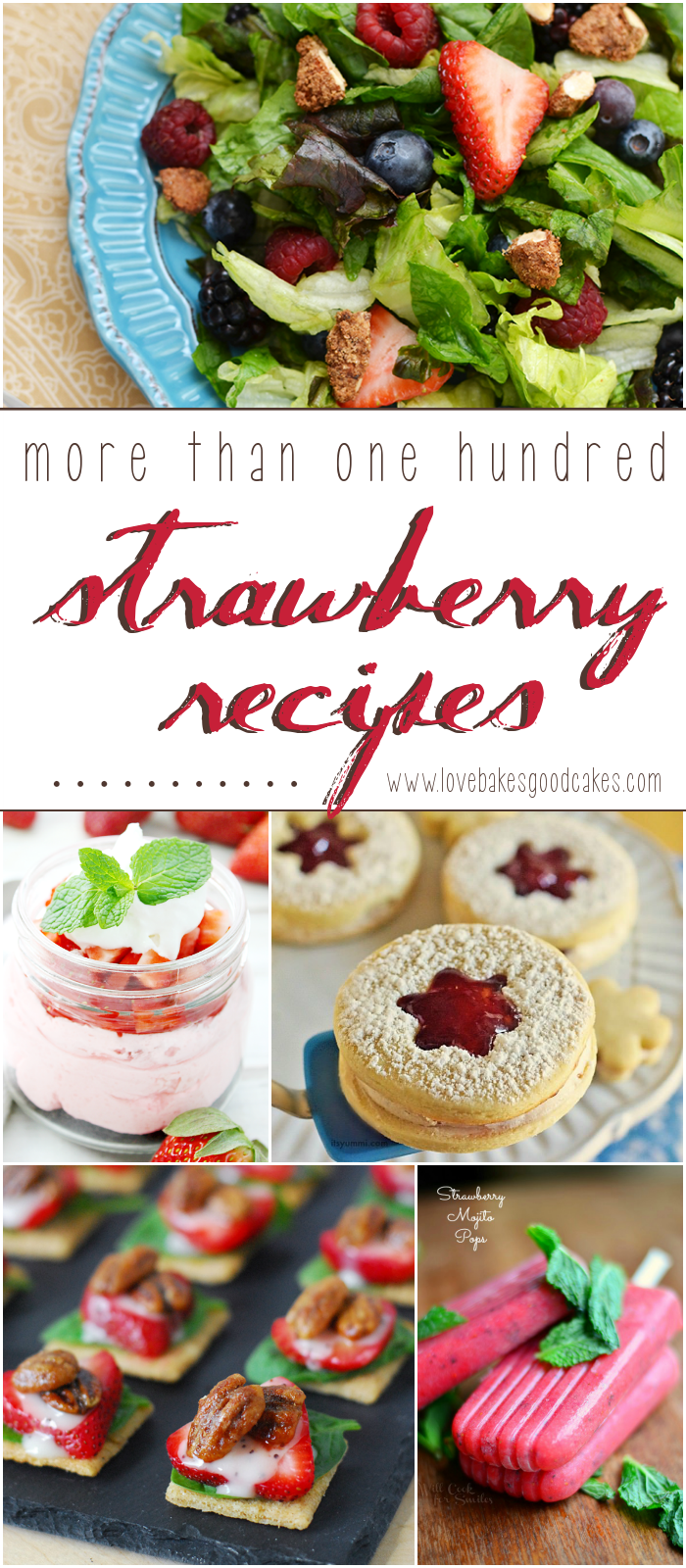 More than 100 Strawberry recipes!