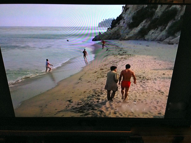 Paradise Cove in 1971; Columbo