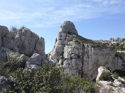 La Grande Candelle - Calanques de Marseille