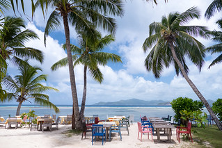 Hình ảnh của Anse Marron Các bãi biển với chiều dài 1205 mét. sc seychelles ladigue anselareunion
