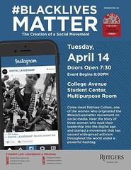 #BlackLivesMatter event, Rutgers University