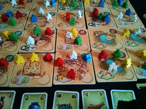 036 Five Tribes Gameplay 8