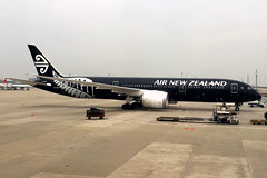 Air New Zealand | Boeing 787-9 | ZK-NZE | Shanghai Pudong
