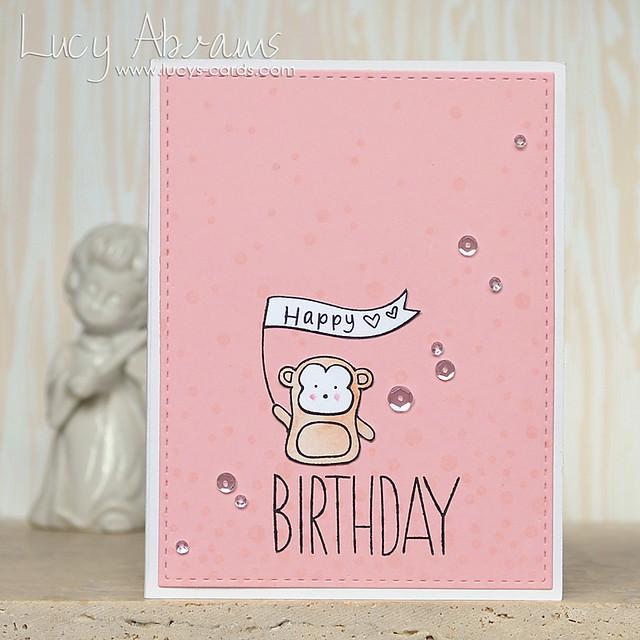 Birthday Monkey by Lucy Abrams