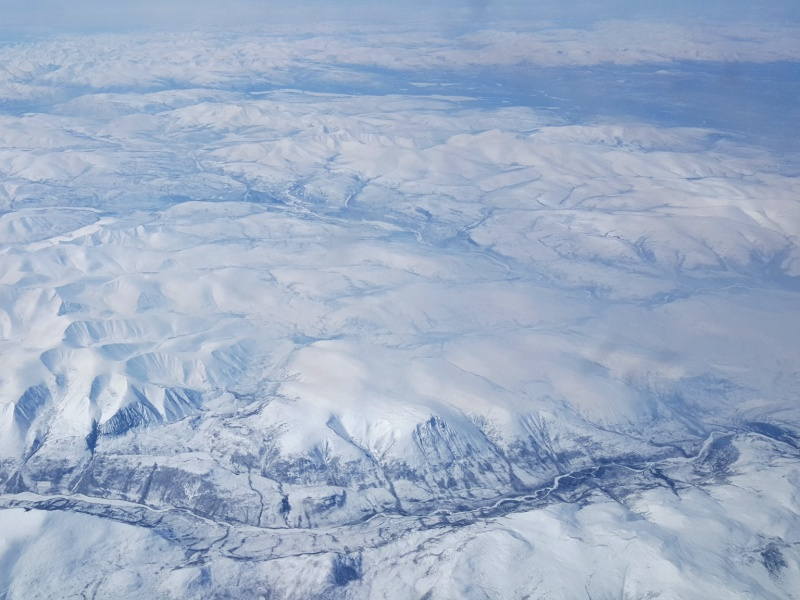 Arctic from the plane