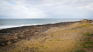 Kuva Playa De Guacimeta Ranta pituus 1447 metriä. sea costa beach mar seaside lanzarote playa canarias shore canary seashore canaryislands playahonda orilladelmar