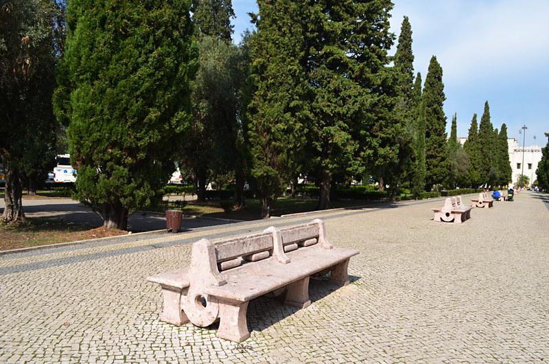Gardens, Belém, Lisbon, Portugal