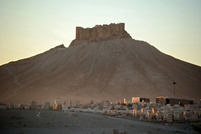Last Rays Ancient City Landscapes of Palmyra The UNESCO World Heritage Site Syria Middle East