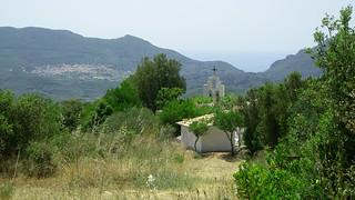 Monastary at Mount Stavros, Corfu