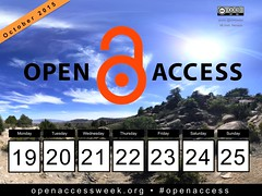 Open for Collaboration: 2015 Open Access Week, Oct 19-25 #openaccess