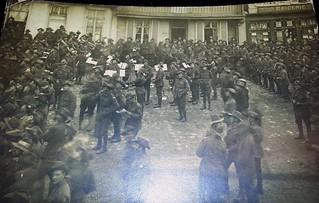 WW1 Armistice Day in Vignacourt, France