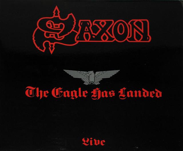 """SAXON THE EAGLE HAS LANDED ORIG FRANCE 12"""" LP"""
