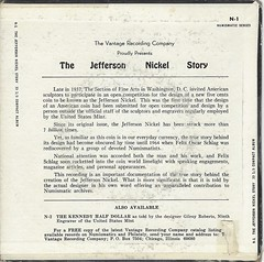 Felix Schlag Jefferson Nickel record jacket back