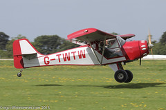 G-TWTW - 2006 build Denney Kitfox Mk. II, departing from Sywell during the 2013 LAA Rally