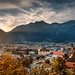 sunset Innsbruck