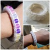 UV Sensitive Knit Bracelet