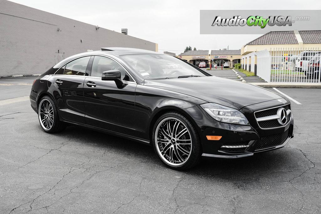 "Mercedes Benz Richmond >> 2013 Mercedes Benz CLS 550 | 20"" XIX Wheels X15 black ..."