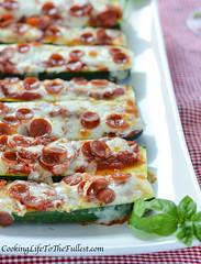 Zucchini Pizza Stix