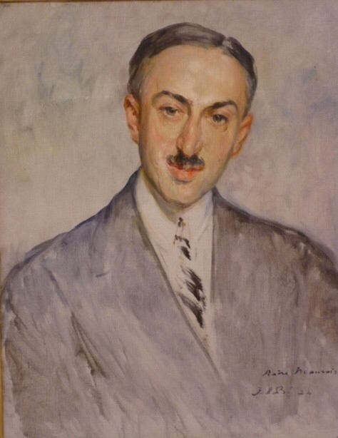 Andre Maurois by Jacques-Émile Blanche