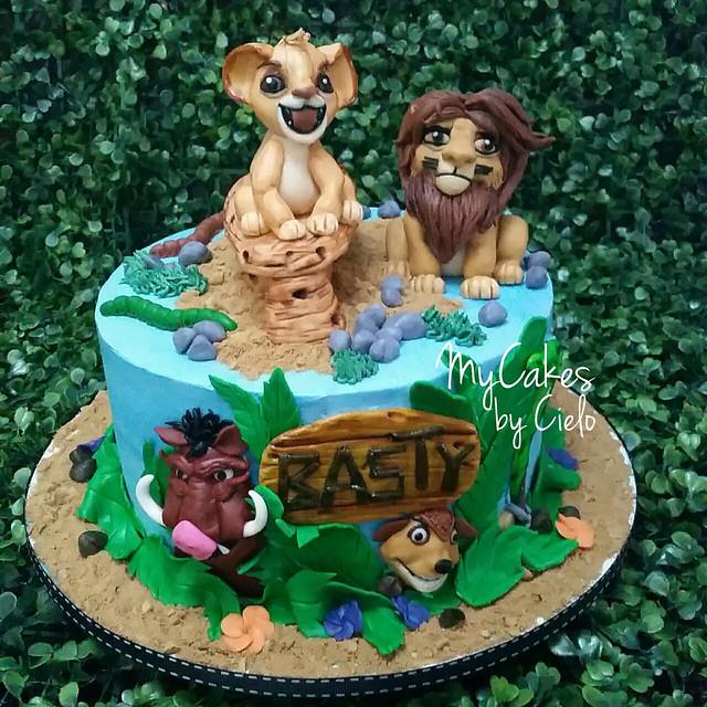 Jungle Themed Cake by Maris Cielo Perez Cruz of Cielo's Creation