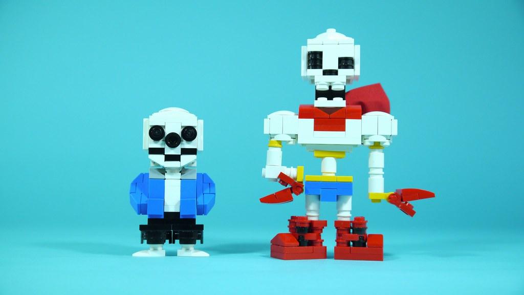 LEGO Undertale Sans & Papyrus
