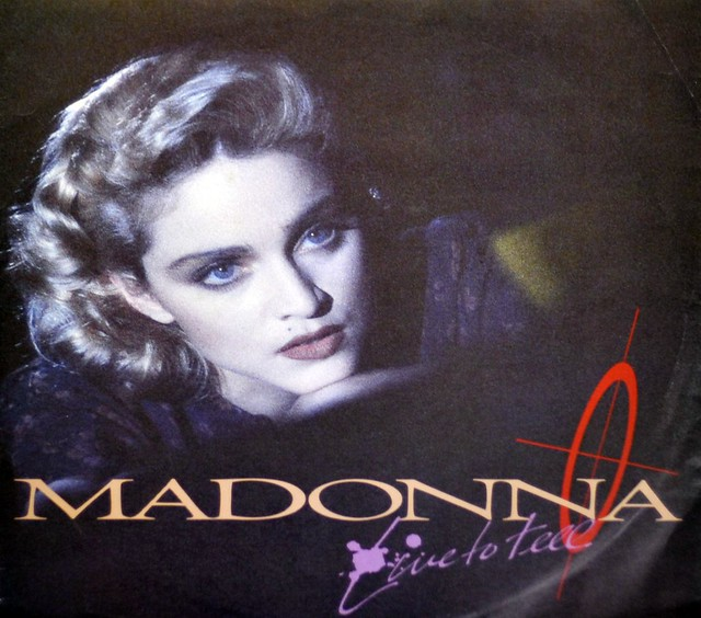 """MADONNA Live to Tell 7"""" PS SINGLE VINYL"""