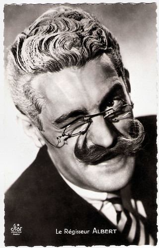 Pierre Cour as Régisseur Albert