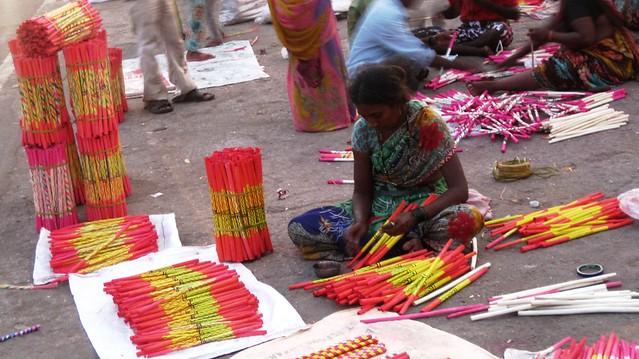 Dandiya sticks, Panchvati area