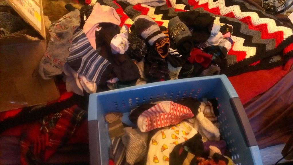 too many socks