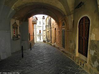 Troia, Il Borgo, The Ancient vllage
