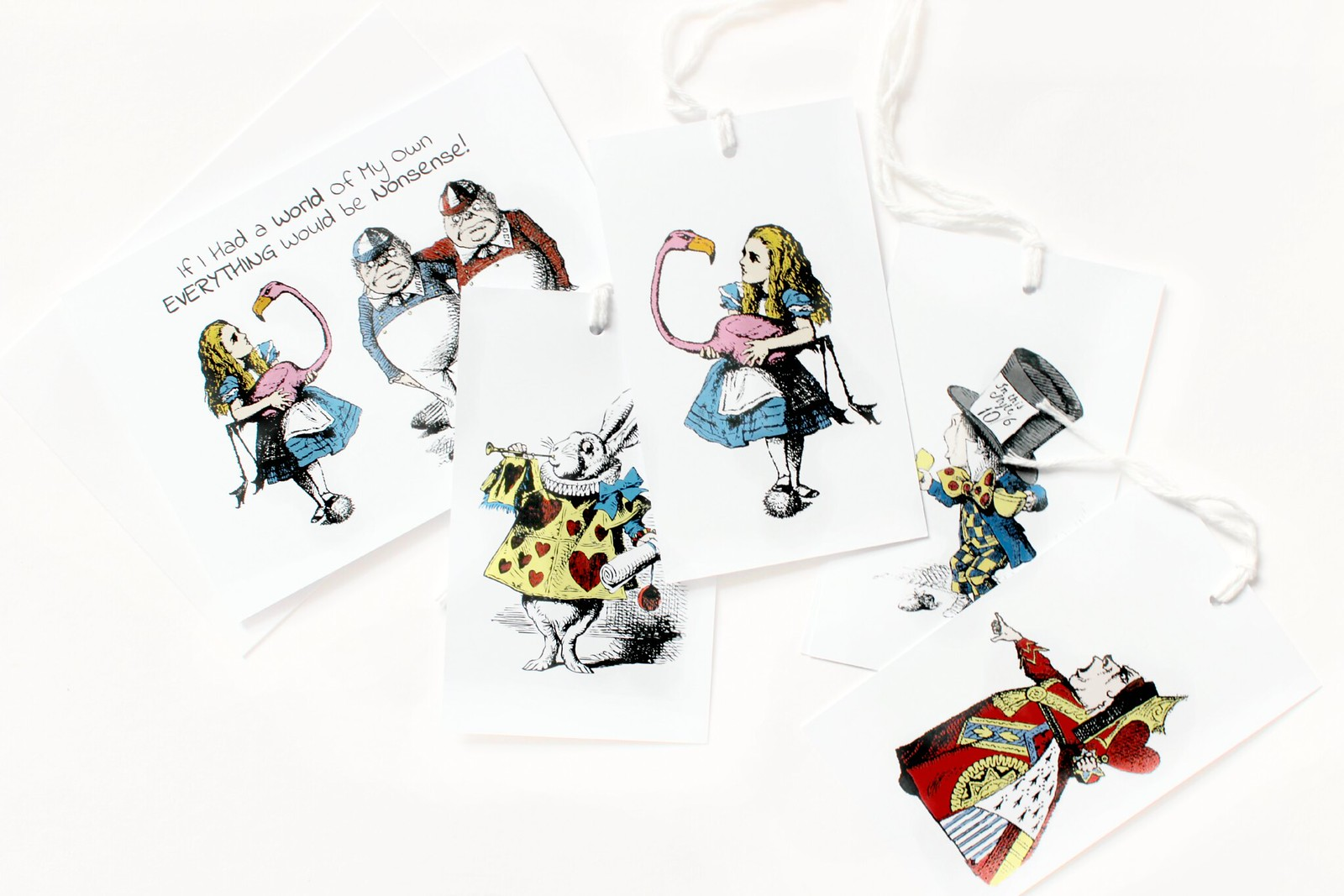 The Alice Boutique Tea Party, Stationary and Home Wear