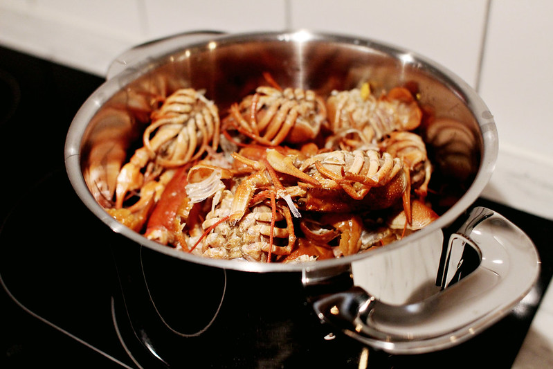 crayfish soup.
