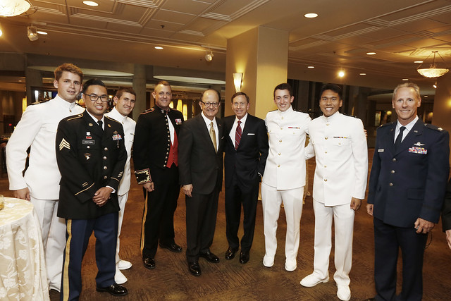 USC Veterans and ROTC Dinner 4-14-15