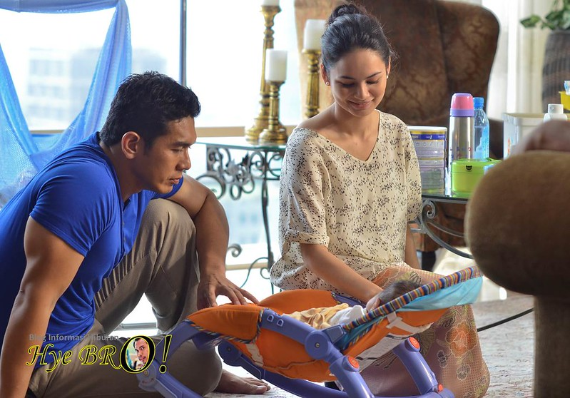 Izara Aishah Fahrin Baby Pilot Cafe
