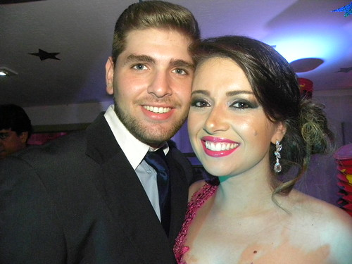 Fabrício Birck e Yasmin Coimbra