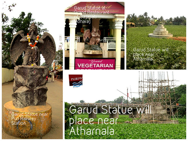 Garuda Statue at different places of Jagannath Puri