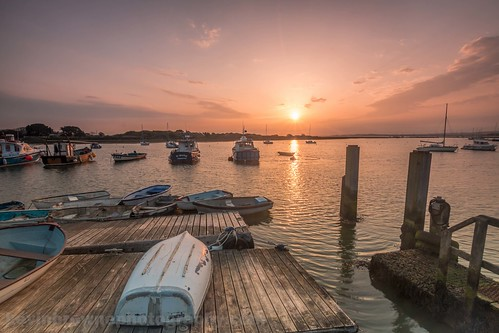 uk sea england birds clouds sunrise boats fishing harbour south hampshire naturereserve isleofwight solent keyhaven kevinbrownephotography