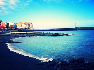 Image of  Puertito de Güímar Beach with a length of  107  meters. beach strand tenerife teneriffa